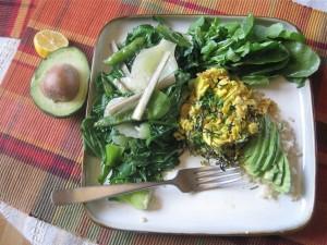Arame Eggs & Avo & Veggies
